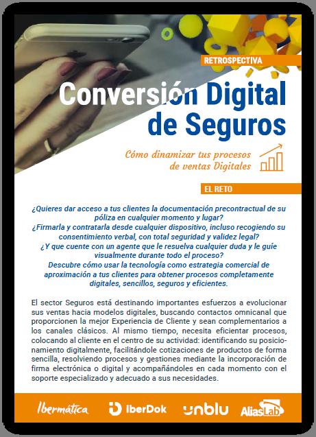 conversión digital seguros iberdok